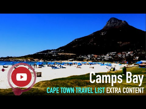 Camps Bay - Cape Town travel list