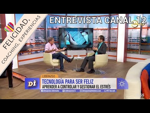 Entrevista de felicidad en Televisión TV Canal 12 | Pedro Amador | Quejas Uruguay