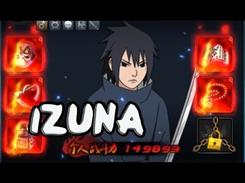 Uchiha Izuna Showcase & Damage Test - Naruto Online