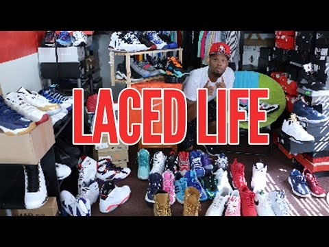 Laced Life: PHILGOTit Gives Us A Look at his Entire Sneaker Collection