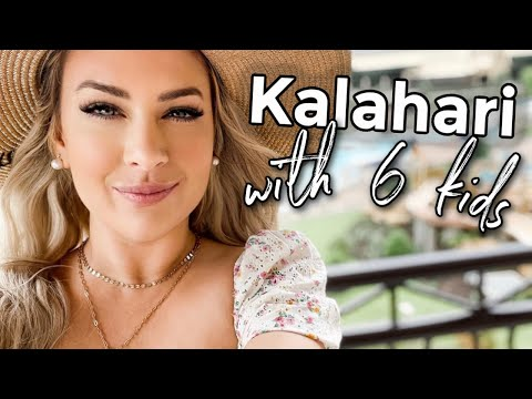 Kalahari Round Rock Vacation + Presidential Suite Tour   DITL of a Mom of 5    pink after blue