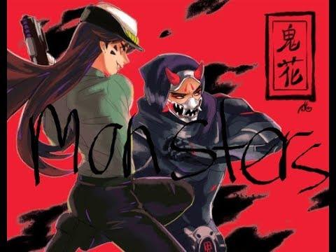 D.va x Genji - Monsters ~Requested By: Kaira Kaneki~