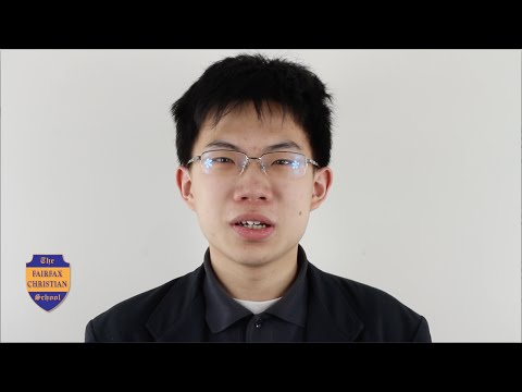 Fairfax Christian School: Meet Hao Jin (Chinese)
