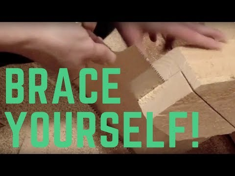 How To Make Braces - Timber Framing