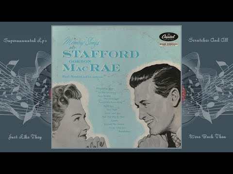 JO STAFFORD-GORDON MACRAE memory songs Side One
