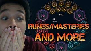AWESOME NEW SOUND EFFECTS / RUNES / MASTERIES AND MORE! League of Legends