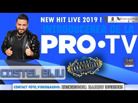 Costel Biju - Introducerea de la PRO TV NEW 2019 @Hanul Vanatorilor By Barbu Events