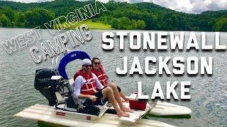 WV CAMPING VLOG! | Stonewall Jackson Lake