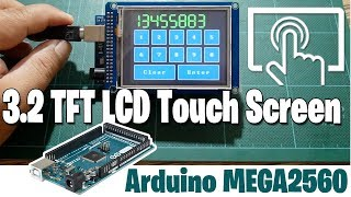 Arduino 3.2'' TFT LCD Touch Screen with Arduino MEGA2560 - ICStation.com