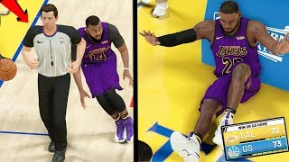 NAIL BITING ELIMINATION GAME! EXPOSING REFS CHEATING FOR GSW! NBA 2k19 MyCAREER Ep. 68