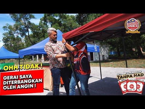 """Alhamdulillah, Terkejut akak!""  Nukilan seorang viewers Tiktok yang Kehilangan Khemah Niaga"