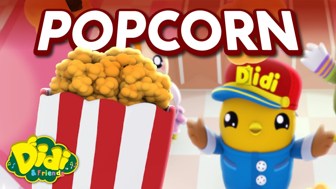 Popcorn | Fun Family Song | Didi & Friends Song for Children