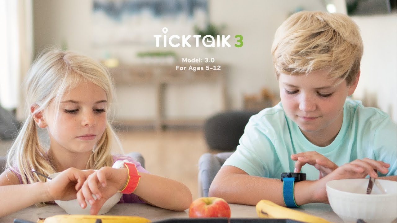 TickTalk 3: The World's Most Advanced 4G/LTE Kids Watch Phone