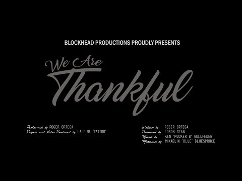We Are Thankful Music Video - Happy Birthday Donnie!