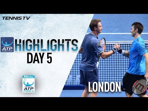 Highlights: Kontinen/Peers Win Ahead Of SF Nitto ATP Finals 2017 Round Robin