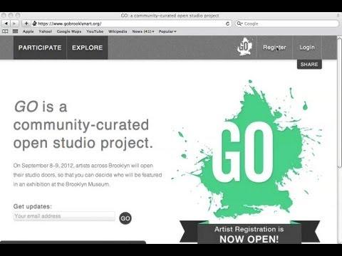 GO Screencast Tutorial for Artists