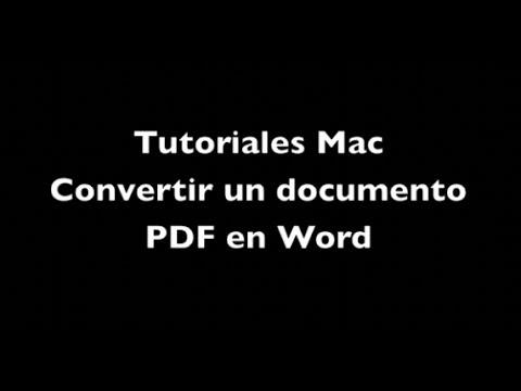 Convertidor PDF a Word en l nea gratis