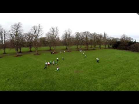 Irish Womens National Team Training UAV Footage