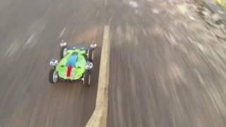 Mini 4wd street - Dash 001 and Dash Frog Emperor Tamiya