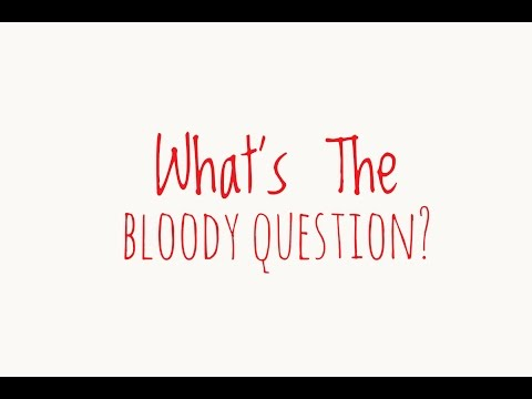 What's The Bloody Question? The Pilot Show