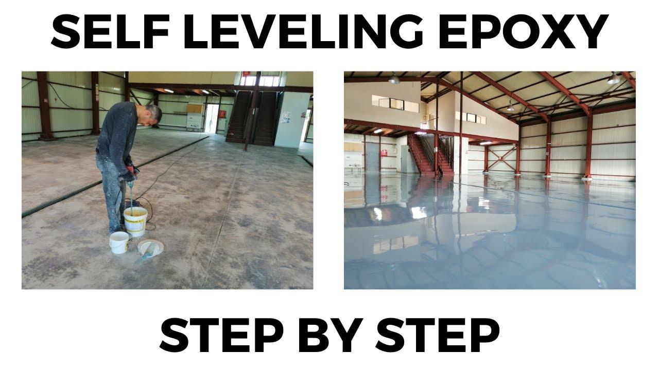 Lying A Self Levelling Epoxy Floor