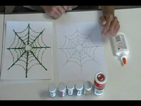 Crafty Creations 11: Creepy Crawly Pipe Cleaner Spiders & Spakling Spider Webs