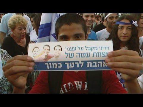 Israelis express support for war in Gaza | Channel 4 News