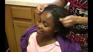 Natural texture haircare for Children part 1
