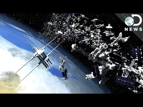Could You Get Hit By Falling Space Junk?
