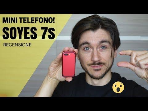 Il più piccolo iPhone del mondo! Mini telefono SOYES 7s