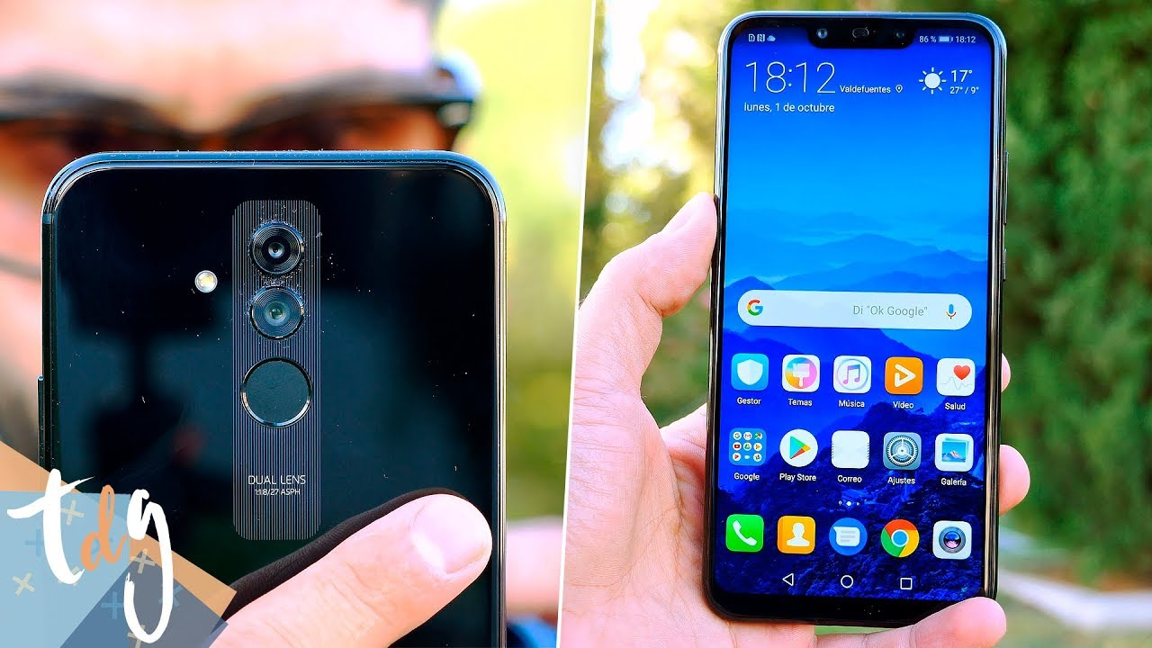 huawei mate 20 lite review m s notch 4 c maras y mucha. Black Bedroom Furniture Sets. Home Design Ideas