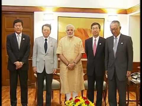 CEO, Mitsubishi Corporation, calls on PM