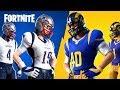 Super Bowl 2019: Patriots vs Rams!! (NFL Rumble, Fortnite Battle Royale)