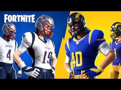 Super Bowl 2019: Patriots vs Rams!! (NFL Rumble, Fortnite Battle Royale) thumbnail