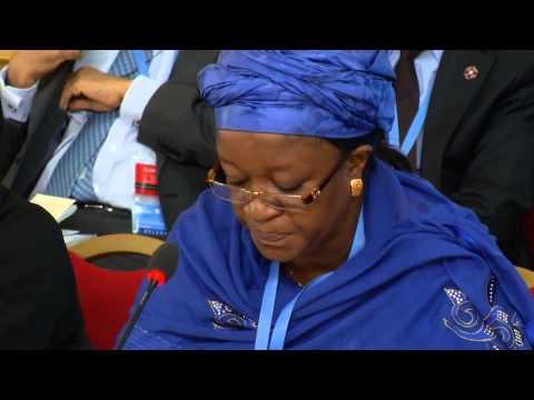 Somalia Conference - UN Special Representative Zainab Hawa Bangura