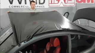 The Best Way To Vinyl Wrap A Roof | By @ckwraps