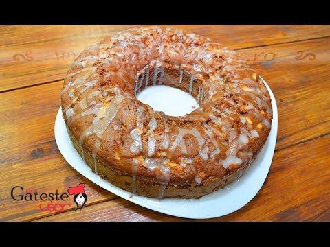 Reteta de Chec cu Mere - Bundt Cake