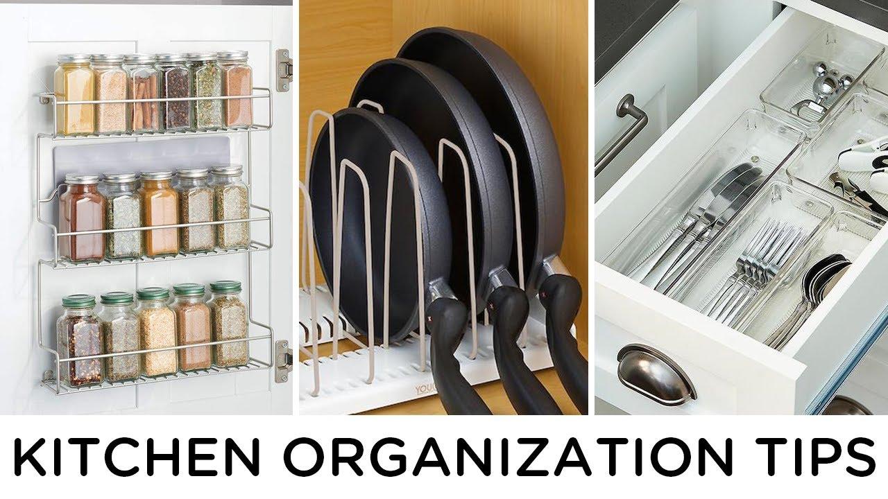 12 SMALL KITCHEN ORGANIZATION IDEAS
