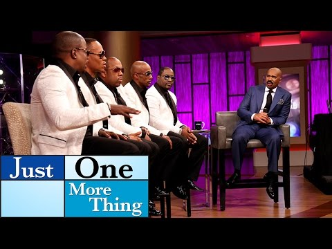 New Edition Perform! || STEVE HARVEY