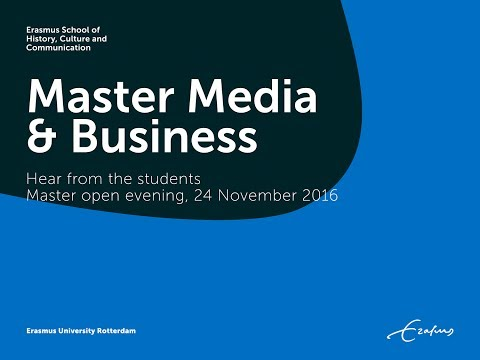Master Media & Business - Student Perspective