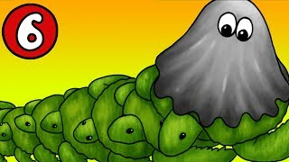 ЛИЗУН ГЛАЗАСТИК съел машину времени ЧАСТЬ #6 игра Tasty Planet 2 на канале Мистер Игрушкин