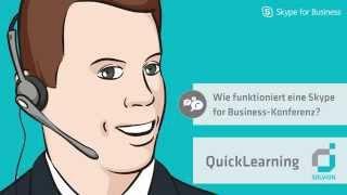 Wie funktioniert eine Skype for Business Konferenz - Solvion QuickLearning