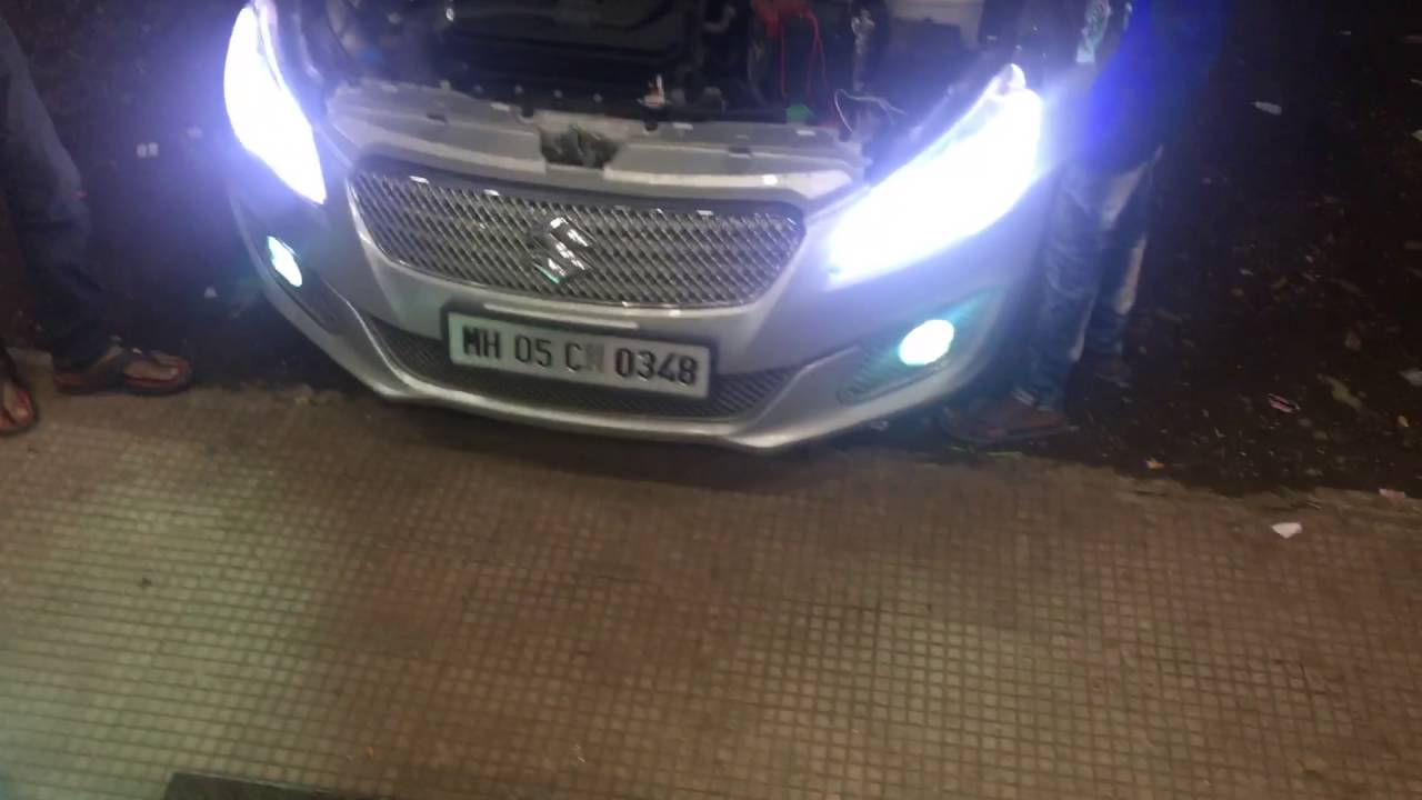 Ciaz Headlight modified -car wonder auto accessories-Ulhasnagar-9421547779\/8483030639 - YouTube
