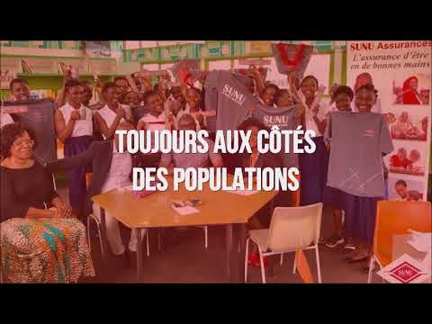 Vidéo des activités 2017 des sociétés SUNU Assurances