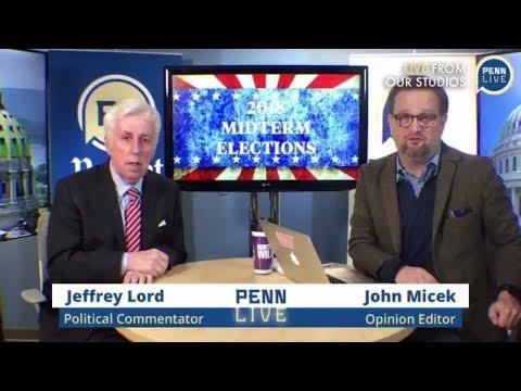 Jeffrey Lord and John Micek discuss Pennsylvania midterm elections