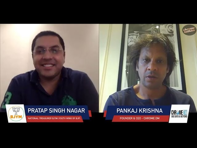 Chrome Talkies Season 3: Episode 2 - Pratap Singh Nagar | National Treasurer BJP (Youth Wing)
