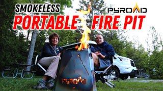 Фото The Pyroad Portable \u0026 Smokeless Fire Pit