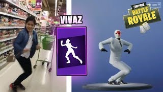 NOUVEAU Fortnite VIVAZ Dance IN REAL LIFE