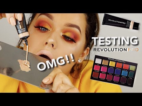 TESTING REVOLUTION PRO! THE FULLEST COVERAGE.. EVER?! | Rachel Leary