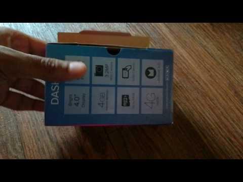 Blu Dash L2 Unboxing